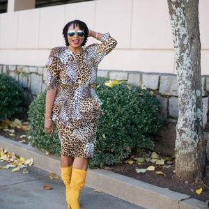Dresses & Skirts - Animal Print Dress